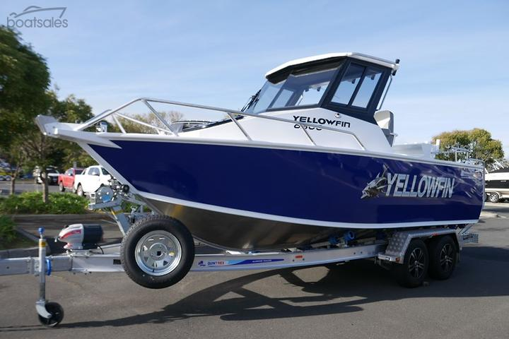 QUINTREX 6500 Yellowfin HT Boats for Sale in Australia - boatsales