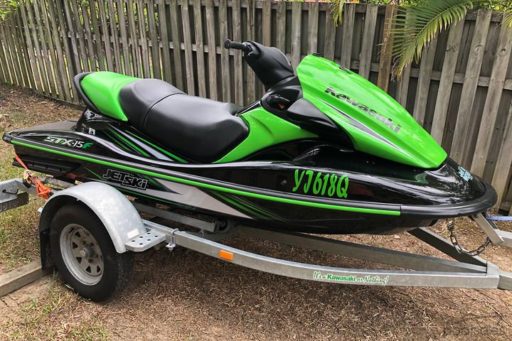 Kawasaki STX-15F PWC Boats with a 4 Stroke Engine for Sale in