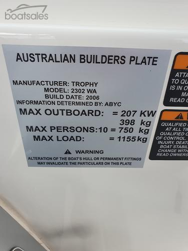 TROPHY Boats for Sale in Australia - boatsales com au