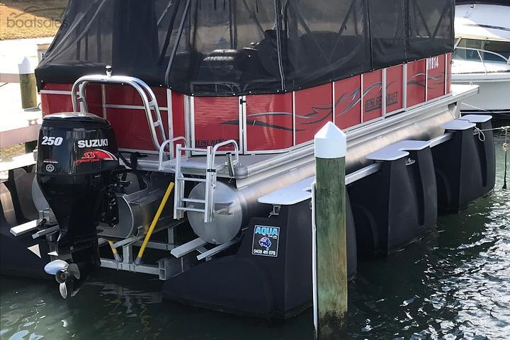 Used Pontoon Boats for Sale in Australia - boatsales com au