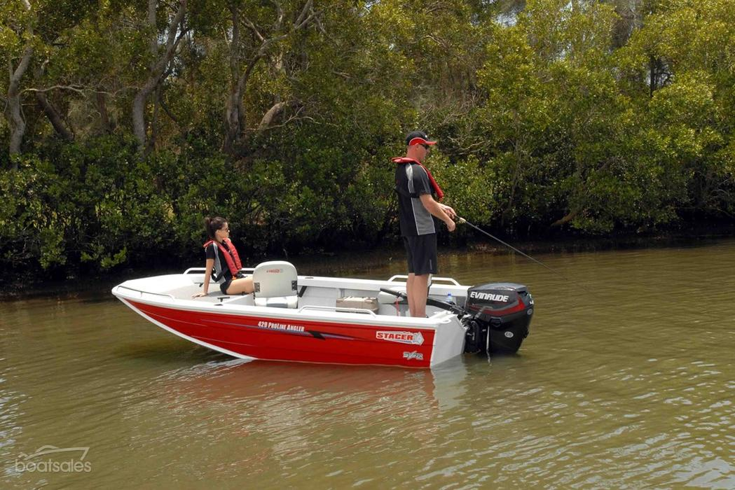 Stacer 429 proline angler fishing boat review boat news for Angler fishing boat