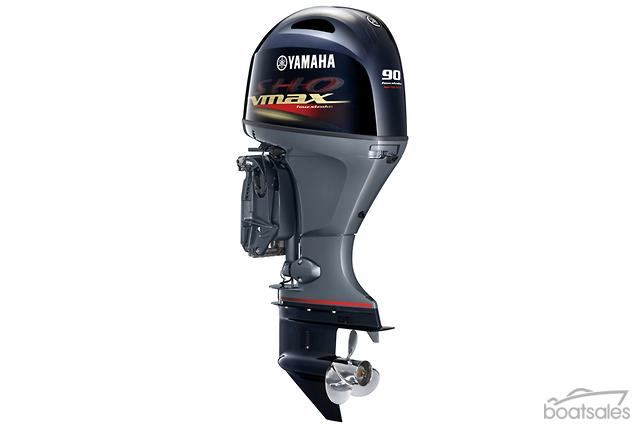 Boat reviews read boat reviews news boat advice online for Yamaha 90 outboard weight